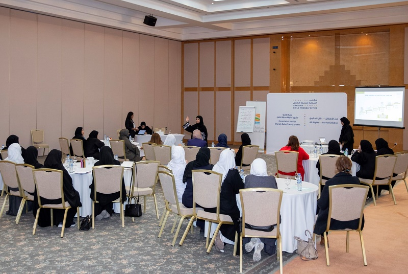 Sharjah Child Friendly Office Organizes Consultation Sessions to Evaluate 'Baby-Friendly Project'